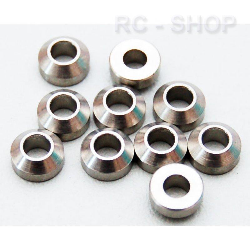 Rc4wd stabile konische stahl beilagscheiben 3mm 4 90 for Stabile sta hle